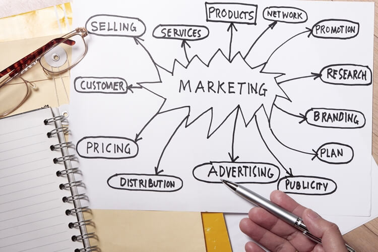 the marketing manager role