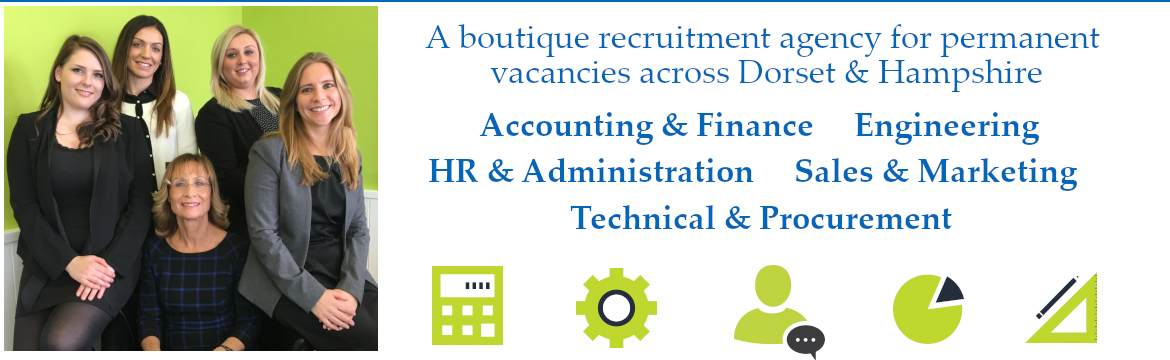 A boutique recruitment agency for permanent vacancies across Dorset & Hampshire