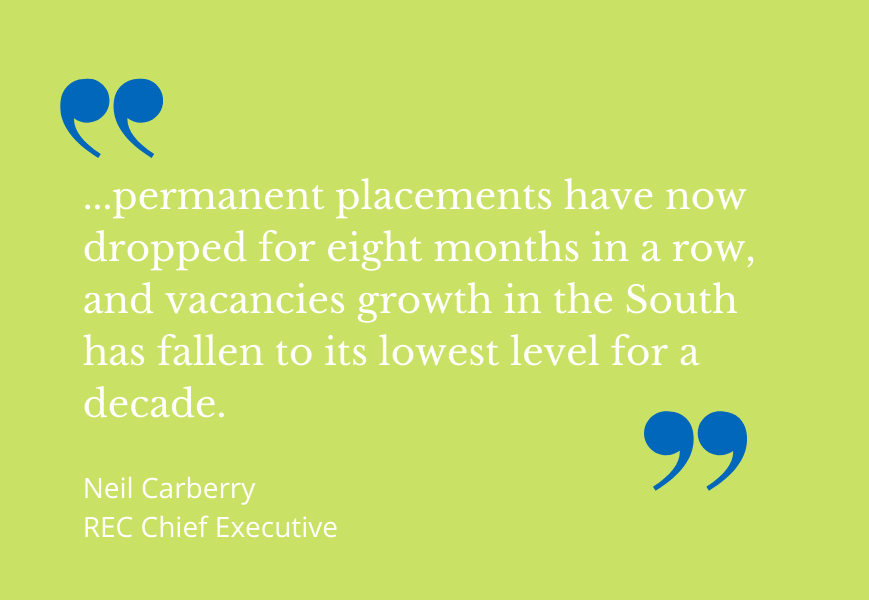 Recruitment in South - Find out what's going on in the employment market