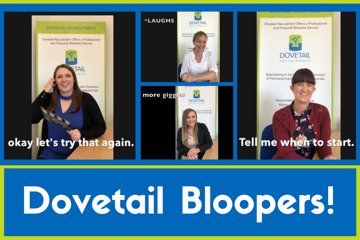 bloopers reel recruitment agency hampshire