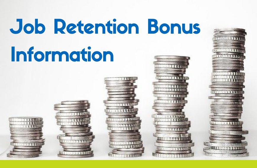 job retention bonus info